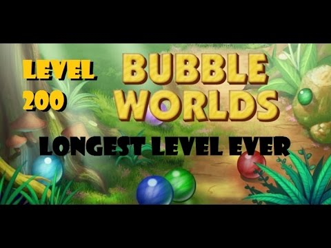 bubble worlds level 200