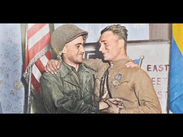 East Meets West 1945 - US-Soviet Linkup at the Elbe