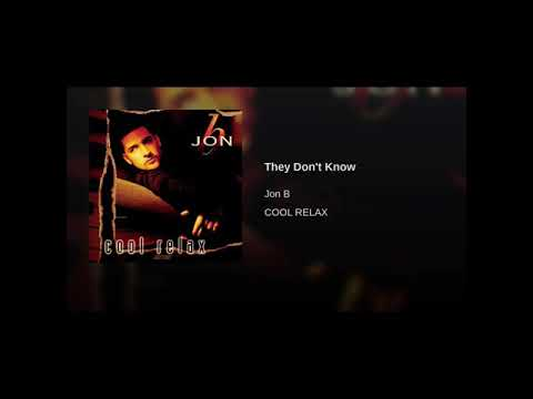 Jon B They Don't Know fast