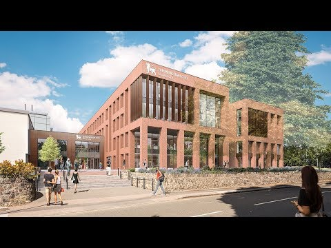 Preview Of The New Extension At Birmingham City University's City South Campus