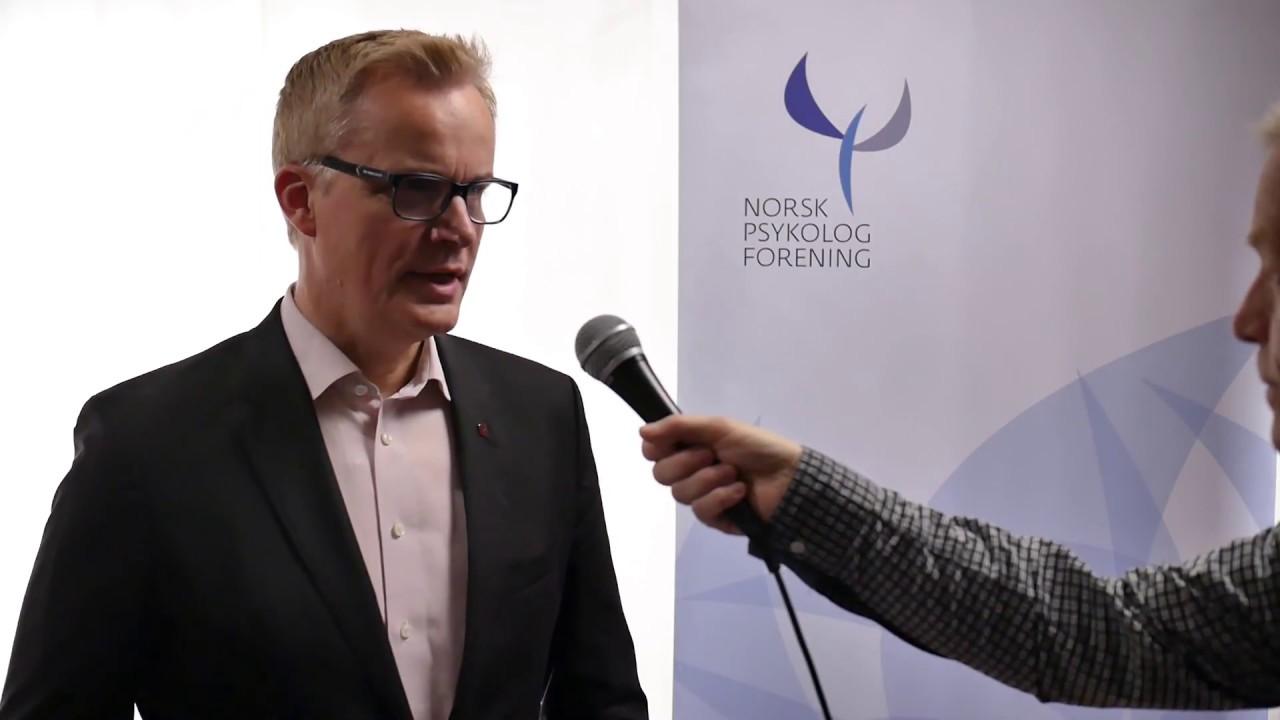 Sosial utjevning. Tor Levin Hofgaard - President i Norsk psykologforening - 8. des 2017