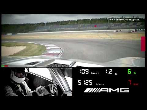 SLS AMG GT3 Racecar Warm-Up with Tommy Kendall -- Clip 5