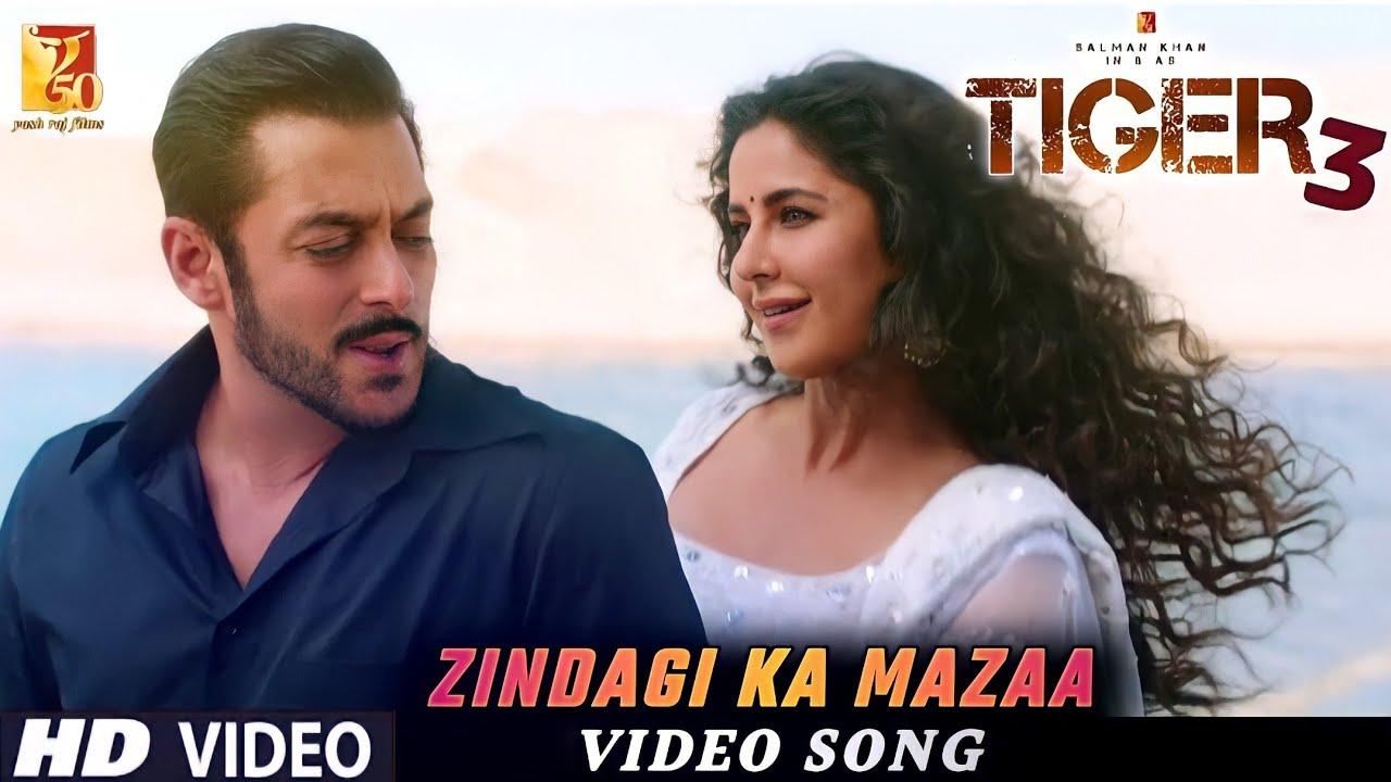 Tiger 3 Movie: Zindagi Ka Mazaa   Video Song   Salman Khan, Katrina Kaif   Maneesh Sharma... - YouTube