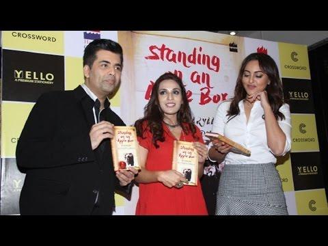 Karan, Sonakshi at Launch of Aishwaryaa Rajinikanth Dhanush's Book 'Standing on an Apple Box'