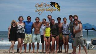 Costa Rica Surf Adventures, Tamarindo, CR (HD video)