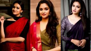 Keerthy Suresh HD Images | Saree & Latest Pictures | Actress Keerthi