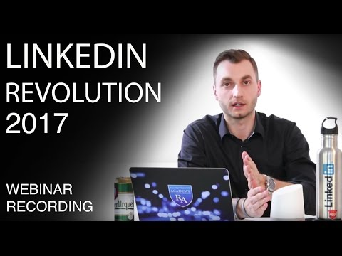 LinkedIn Revolution 2017 [EN webinar recording]