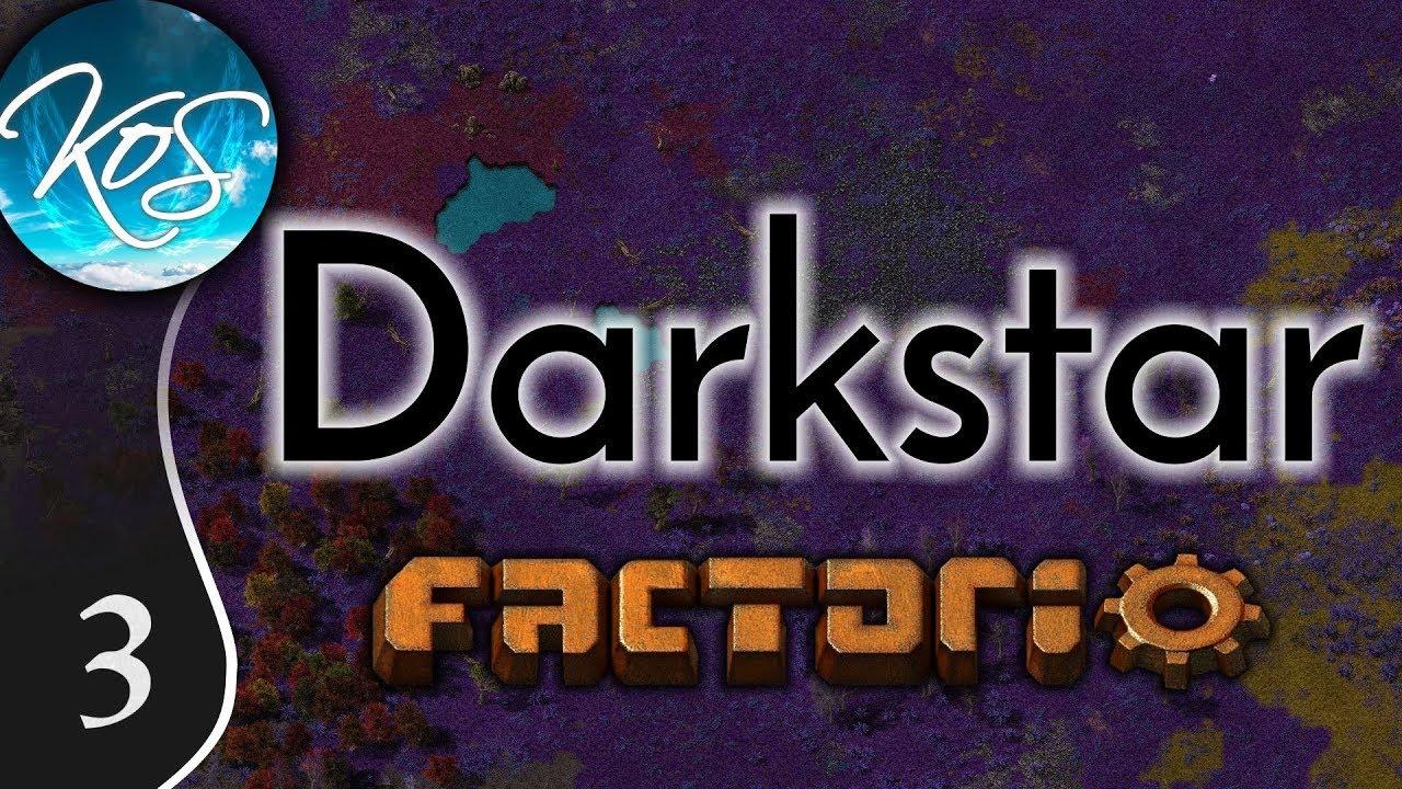 Factorio Darkstar Ep 3: FACTORIO BOUTIQUES - Modded MP w