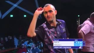 PDC German Darts Championship 2014 - Day 1 - Mark Walsh vs. Lee Palfreyman