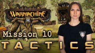 Warmachine Tactics Mission 10 - Wargamer Girl