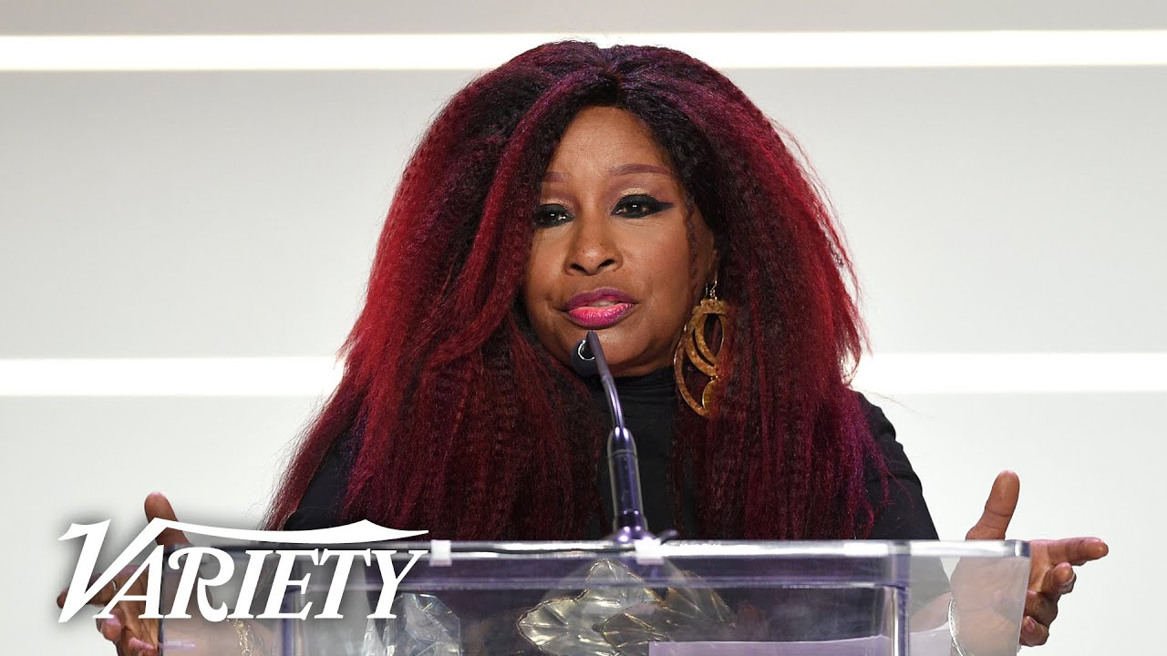 Chaka Khan Opens Up on How 'Singing Is My Sanity' - Full Power of Women Speech