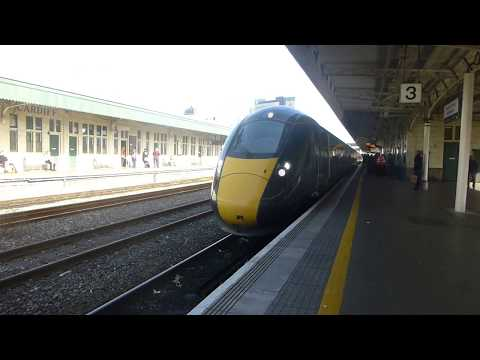 Cardiff to Swansea and return to Bridgend on the first Hitachi class 800 train October 16th 2017