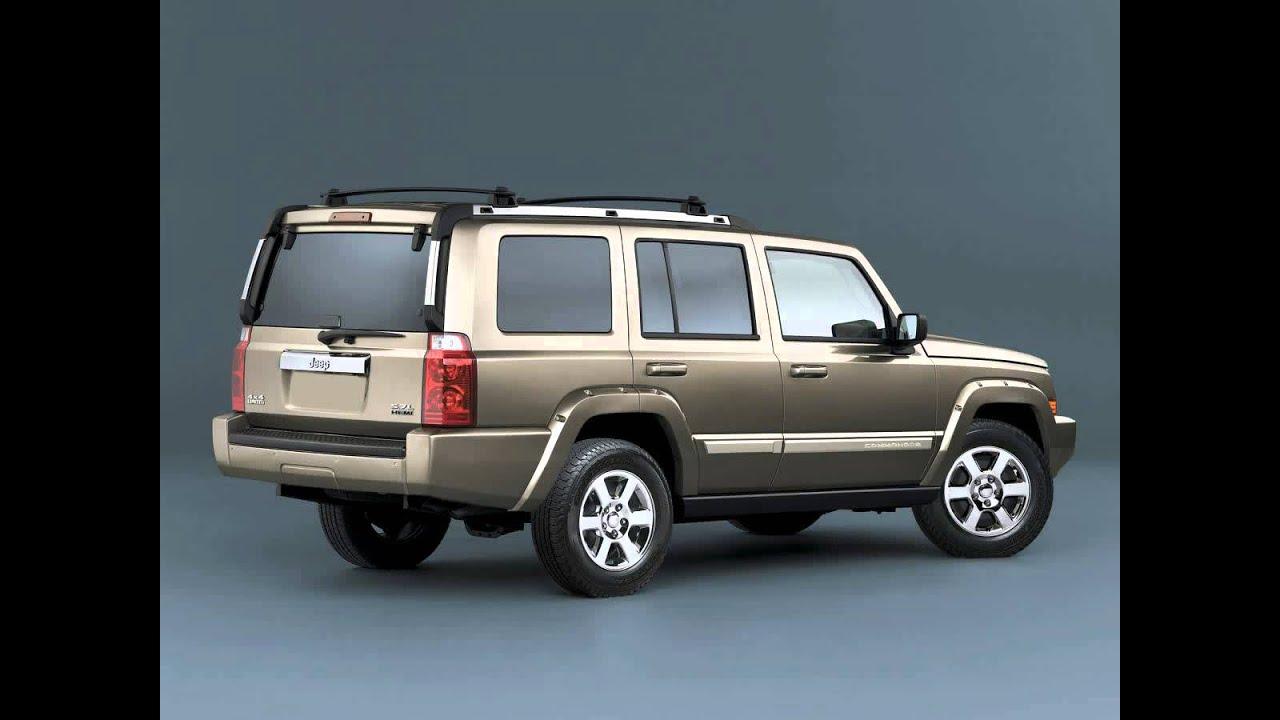jeep commander exterior & interior - youtube