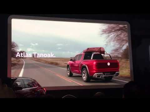 Volkswagen Atlas Tanoak at the 2018 New York Auto Show VW Truck and SUV debut at motor show New York
