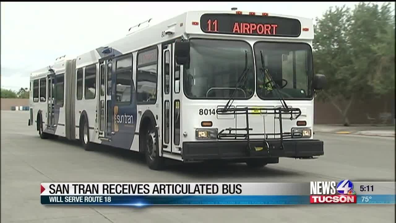 Sun Tran adds new bus to its fleet | KVOA com