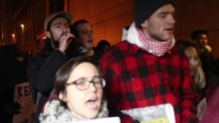 Protest at Columbia U where Ambassador Danny Danon spoke