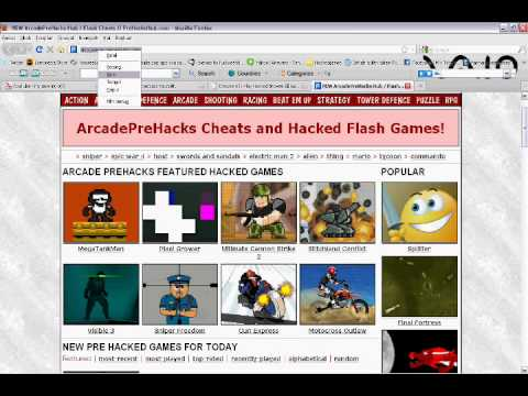 Hacked Arcade Game Sites! - YouTube