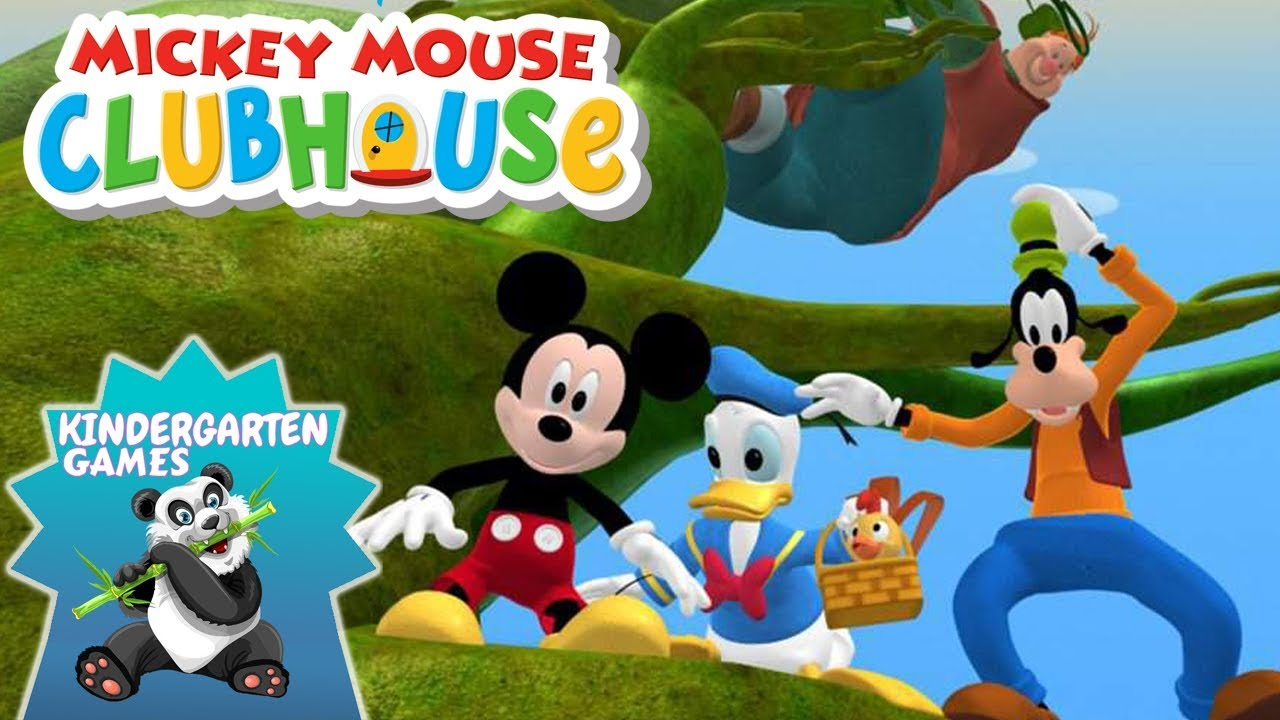 Donald And The Beanstalk Story Mickey Mouse Clubhouse