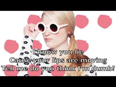 Meghan Trainor - Lips Are Movin Karaoke Cover Backing Track + Lyrics Acoustic Instrumental