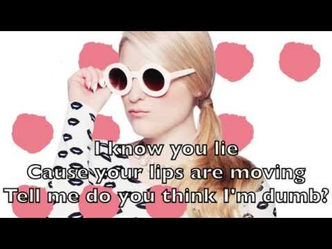 Meghan Trainor - Lips Are Movin Karaoke Cover Backing ...