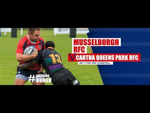 Musselburgh RFC vs Cartha Queens Park BT National Division 1 2017 2018