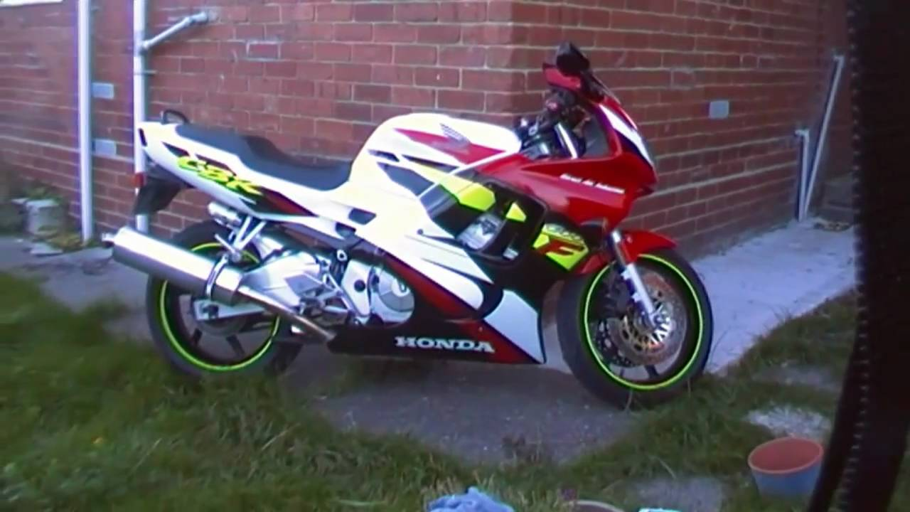 1996 honda cbr 600 f with viper exhaust youtube. Black Bedroom Furniture Sets. Home Design Ideas