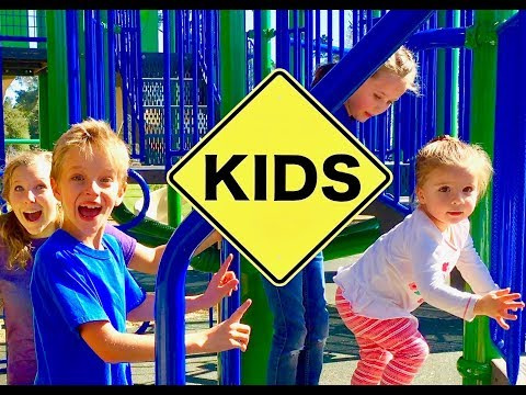 Learn English Playground! Follow the Leader with Sign Post Kids! Cambria!