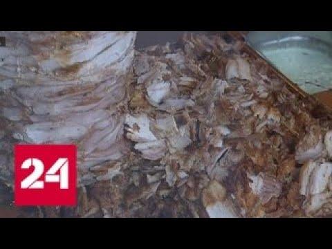 Неутешительная шаурма: что нашел Роспотребнадзор в популярном фастфуде - Россия 24
