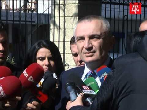 Kryetari i Kuvendit Ilir Meta - Deklarate per mediat
