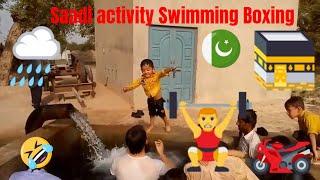 Saadi Activity Kids Prayer Swimming Boxing