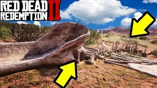 UFO WHALE FOUND in Red Dead Redemption 2!