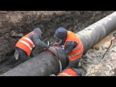 Прокладка методом ГНБ труб из ВЧШГ ДУ 700 мм  в г  Санкт Петербург