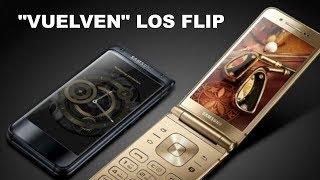 """Vuelven"" los FLIP. Samsung w2018 VS VKworld T2 plus."