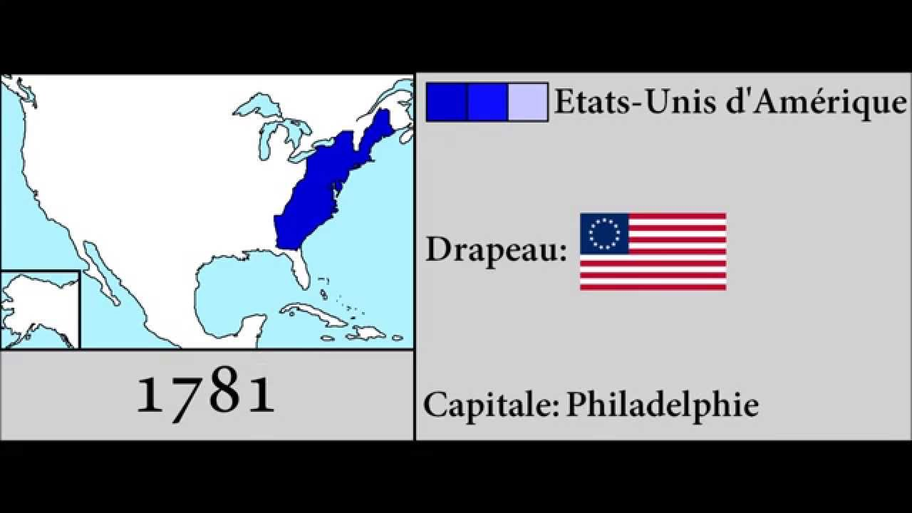 History Of United States YouTube - 1776 map of us