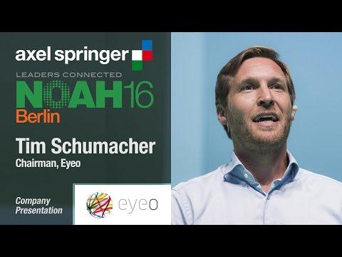 Tim Schumacher, Eyeo - Axel Springer NOAH16 Berlin