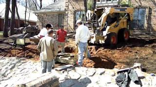 Dallas Landscape Design, Kam Front Yard Remodel