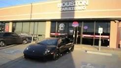 2009 Lamborghini Murciélago Audio System - Houston Car Stereo