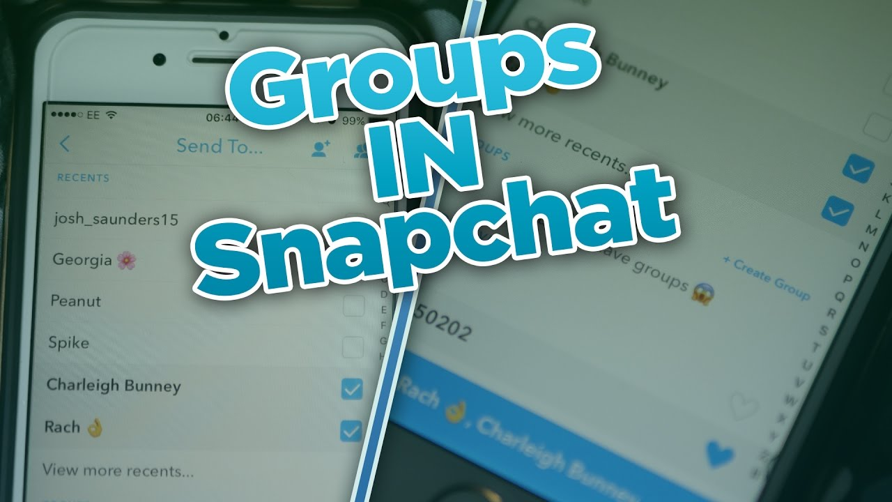 How To Make A Group Chat In Snapchat? - Groups In Snapchat - December  Snapchat Update (v9 45 0)