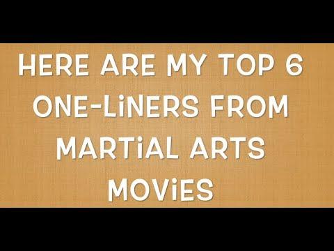 Top 6 Martial Arts Movie Quotes