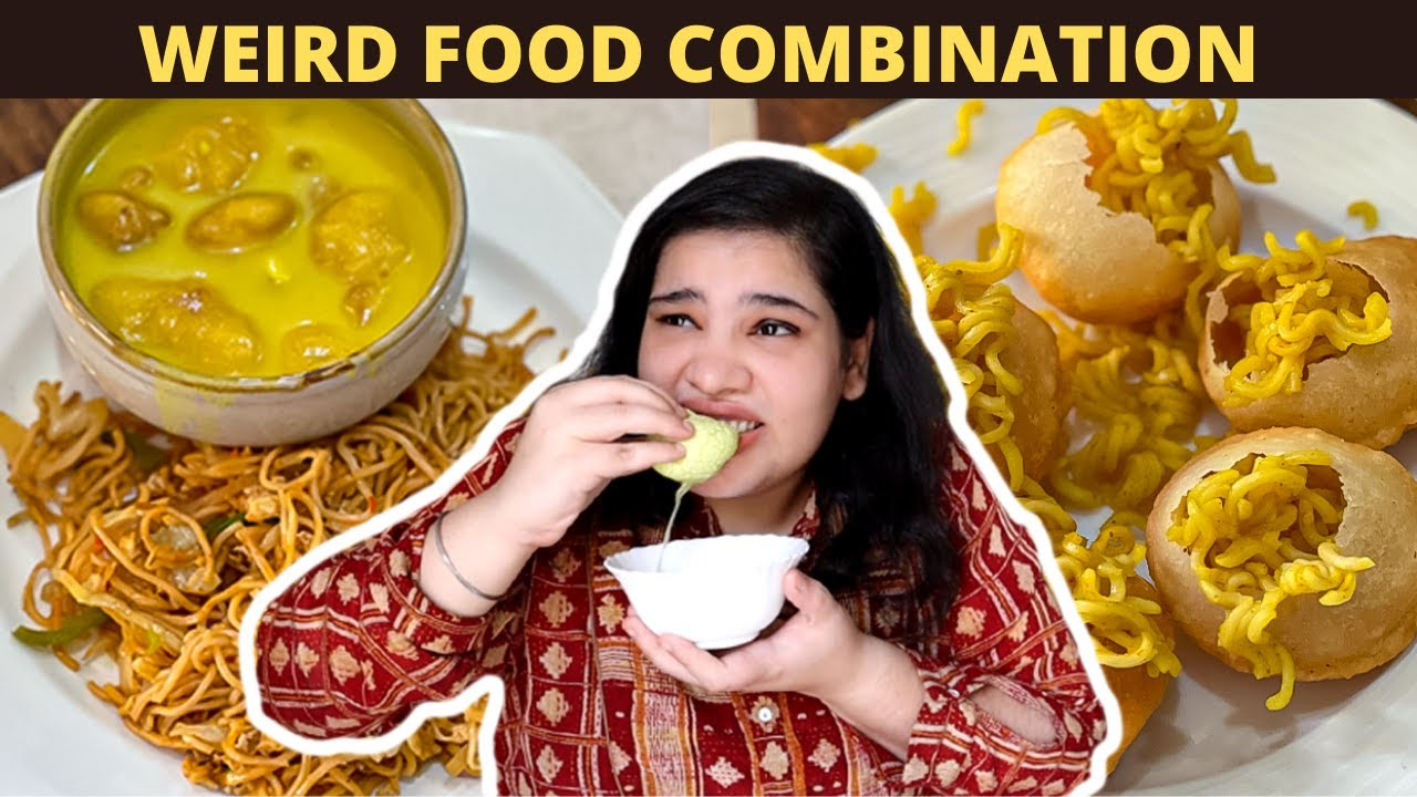 Weirdest Food Challenge 😜 **NEVER TRY THIS AT HOME** 🙏