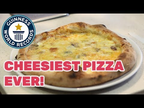 Most varieties of cheese on a pizza – Guinness World Records