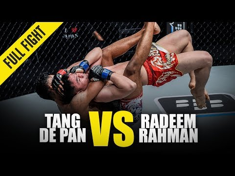 Tang De Pan Vs. Radeem Rahman | ONE Full Fight | May 2018
