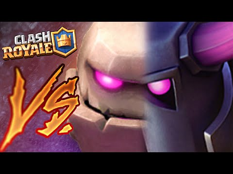 Clash Royale - EPIC PEKKA VS. GOLEM ROUND 2 (Max Elixir Battle!!!)