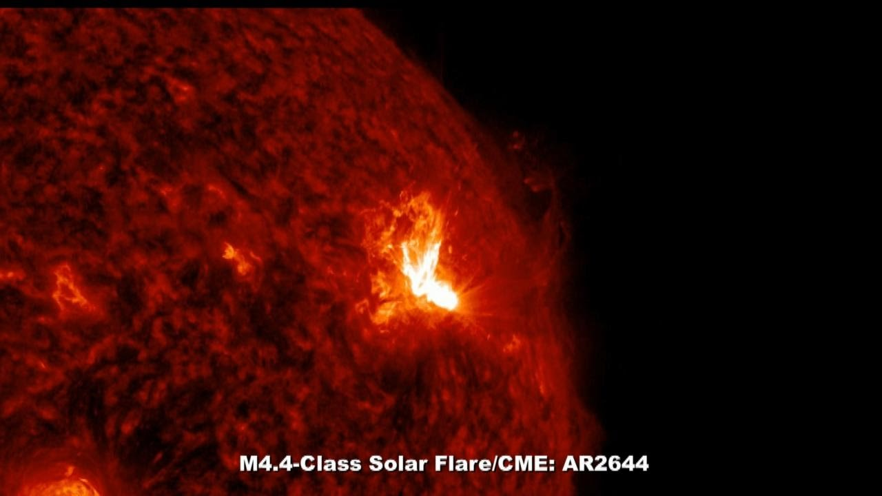 SOLAR ACTIVITY UPDATE: AR2644 Is Popping With M-Class Flares  April 3rd,  2017