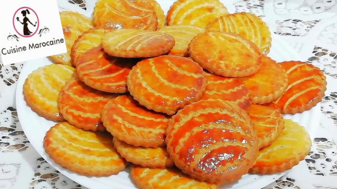 Gateaux Biscuits Secs Tres Rapide Et Facile A Faire Cuisine Marocaine Youtube