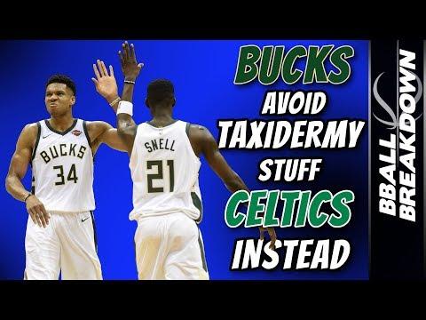 BUCKS Avoid Taxidermy, Stuff CELTICS Instead