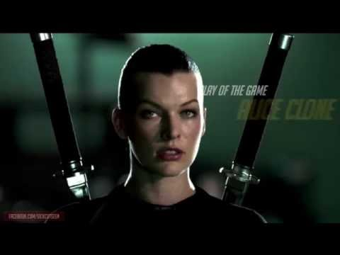 Alice Clone Play Of The Game Resident Evil Afterlife Youtube