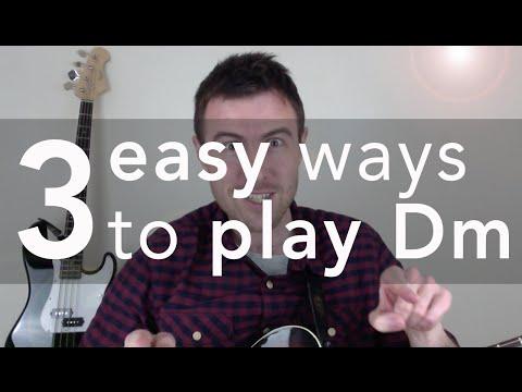 dm-guitar-chord-(3-easy-versions)