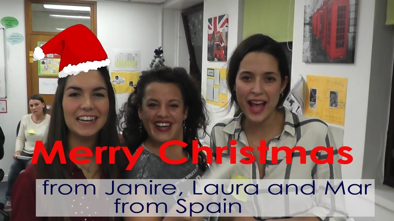 Christmas Greetings In Spanish Feliz Navidad Youtube