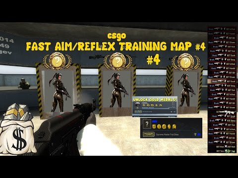 CSGO Fast Aim Reflex Map #4 Very Very Effective and Successfully #4